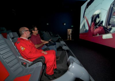 Motion ride theatre and x2000 rides opening at the Science Museum
